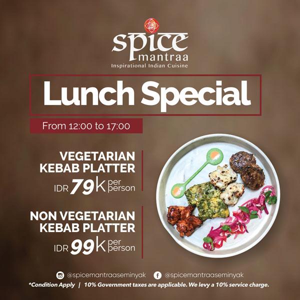 spicemantra-seminyak-special-lunch